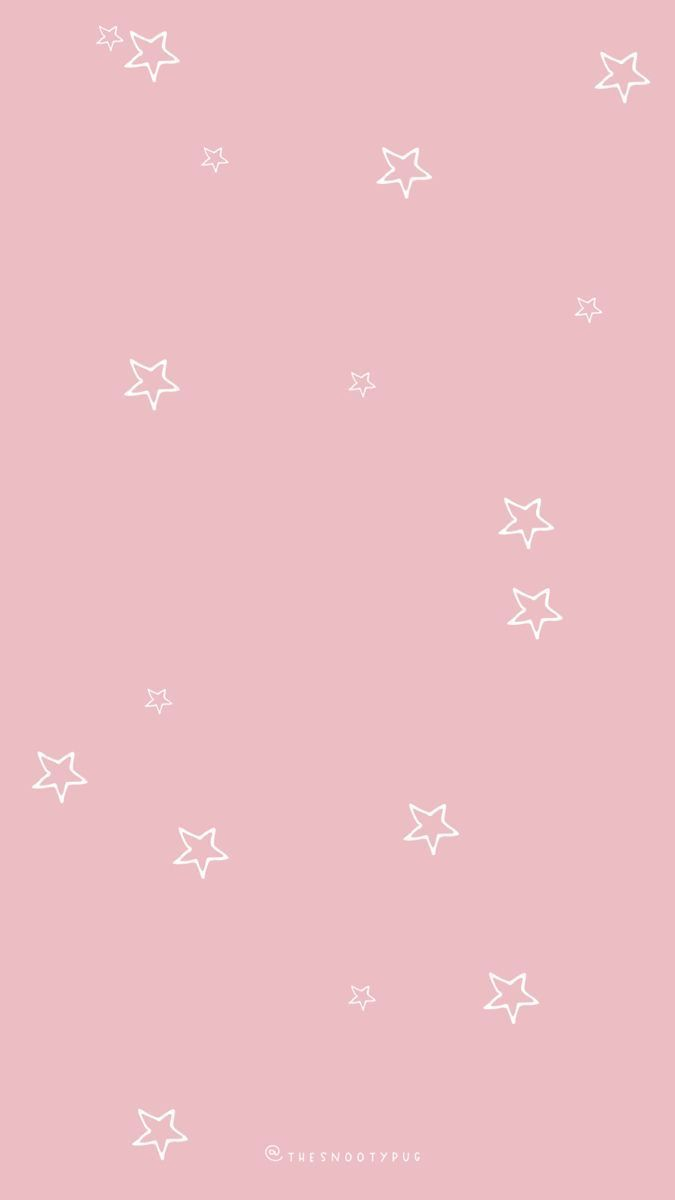 Pin By Iphone Background Simple On Iphone 8 Pink Wallpaper Iphone Blush Pink Wallpaper Star Wallpaper