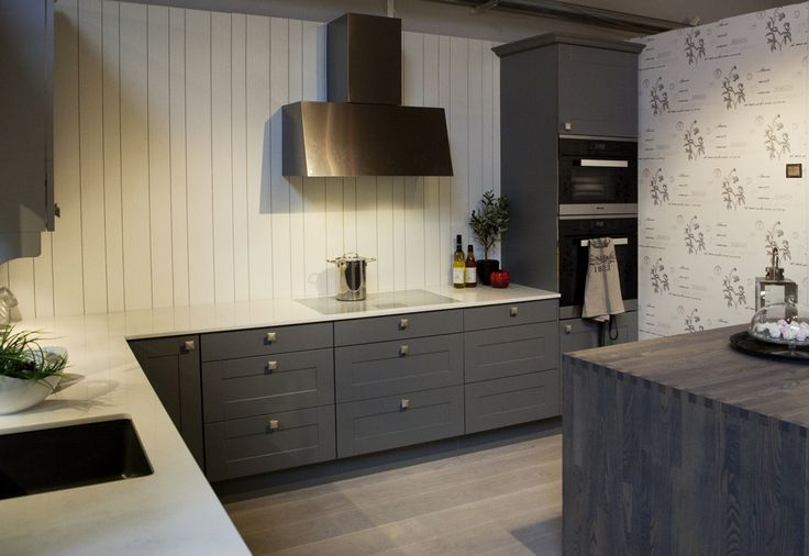 Ravenna trend i fargen mørk grå / lys grå   JKE Design