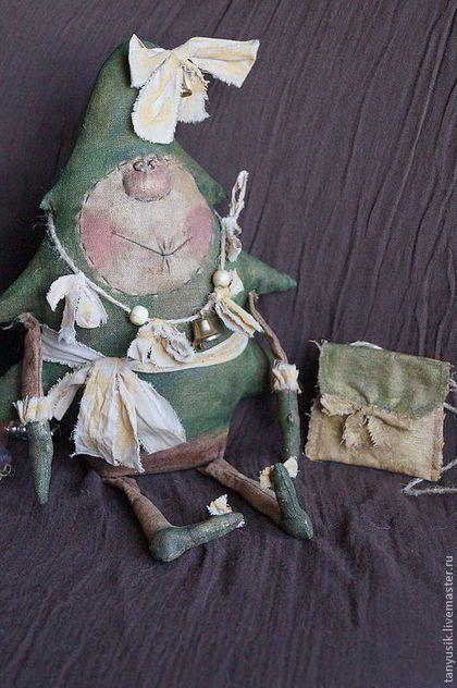 Ароматизированные куклы ручной работы. Ярмарка Мастеров - ручная работа. Купить Главная девочка Нового года. Handmade. Подарок на новый год