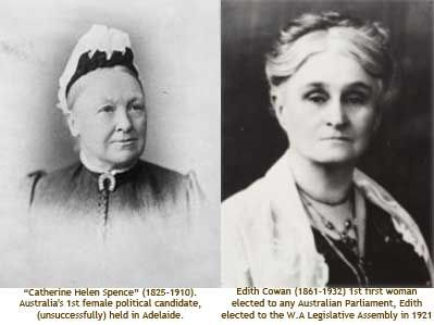 21 March - South Australia's Suffrage Act is proclaimed