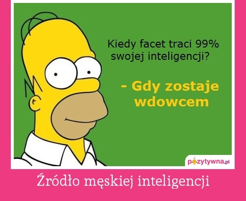 Źródło męskiej inteligencji  :