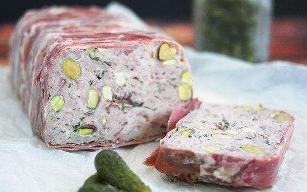 Easy Pork & Veal Terrine