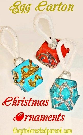 17 best images about egg carton craft ideas on pinterest for Egg carton christmas crafts