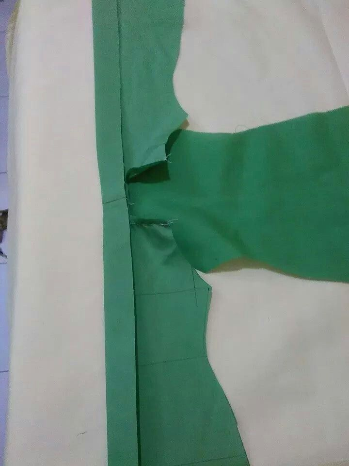 Kebaya sewing step 5
