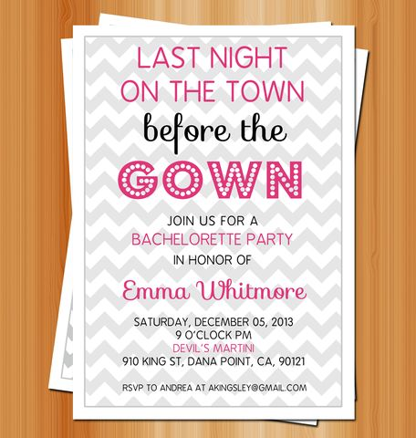136 best Bachelorette and bachelor images – Bridal Shower and Bachelorette Party Invitations