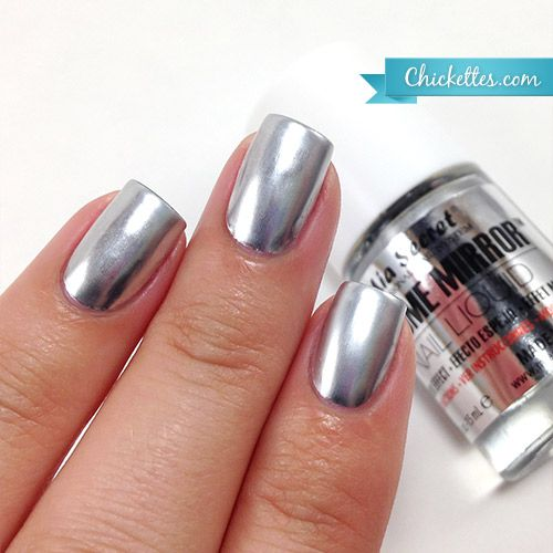 How To Use Chrome Nail Powder Without Gel: Best 25+ Mirror Nails Ideas On Pinterest