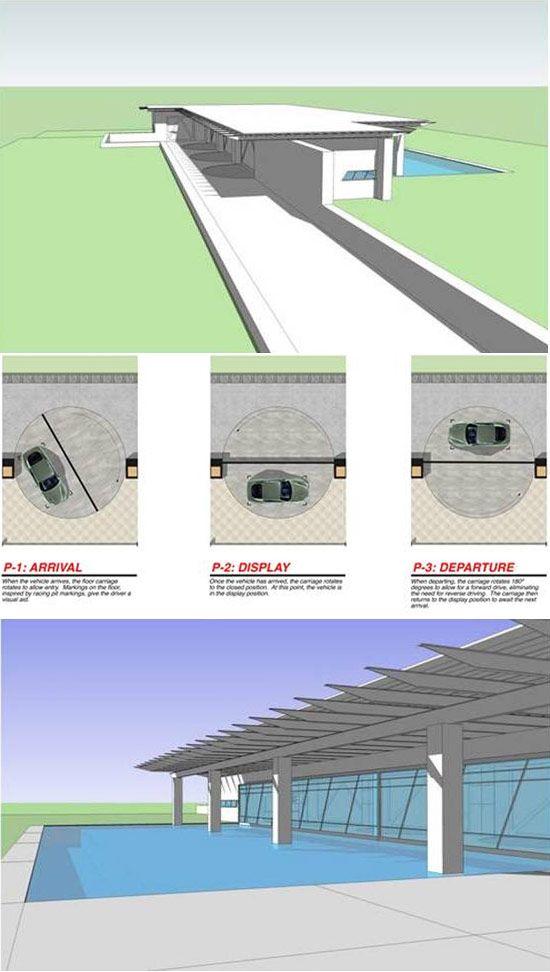 concept car garage