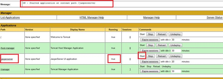 Japsersoft BI Suite Tutorials:  is running but  Server UI start Up problem - How to resolve it ?
