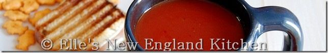Elle's New England Kitchen - Elle's New England Kitchen - Simple Tomato Soup (Campbell's Copycat)
