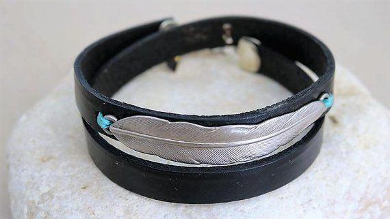 For Her Starfish Bracelet Leather Bracelet SALE Unique Gifts Brown Leather Bracelet Starfish Bracelet Silver Leather Wrap Bracelet