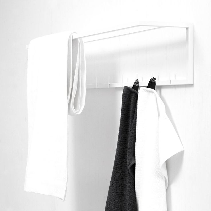 mllmtr - Towel rack L1-bthr #homedesign #home #rack #interior #inredning #interiordesign #interiordecor #finnishdesign interiordecoration #towelrack #hallway #sisustus #sisustusidea #sisustaminen #naulakko #pyyheteline