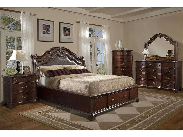 Tabasco 5 Piece Queen Bedroom Set   FFO Home · Sleigh Bed FrameSleigh ...