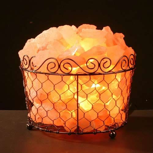 Salt Lamps And Negative Ions : As salt lamp warms up with the light bulb it emits negative ions into the air. Negative ions ...