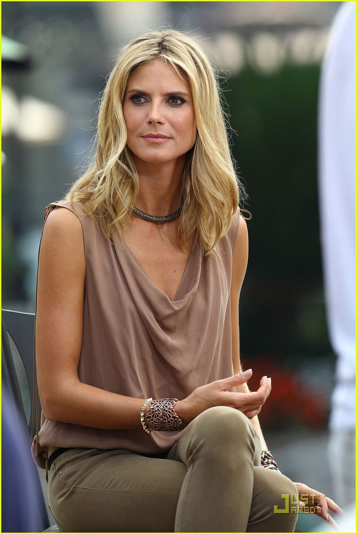 Full Sized Photo of heidi klum extra grove 08 | photofull | Just Jared