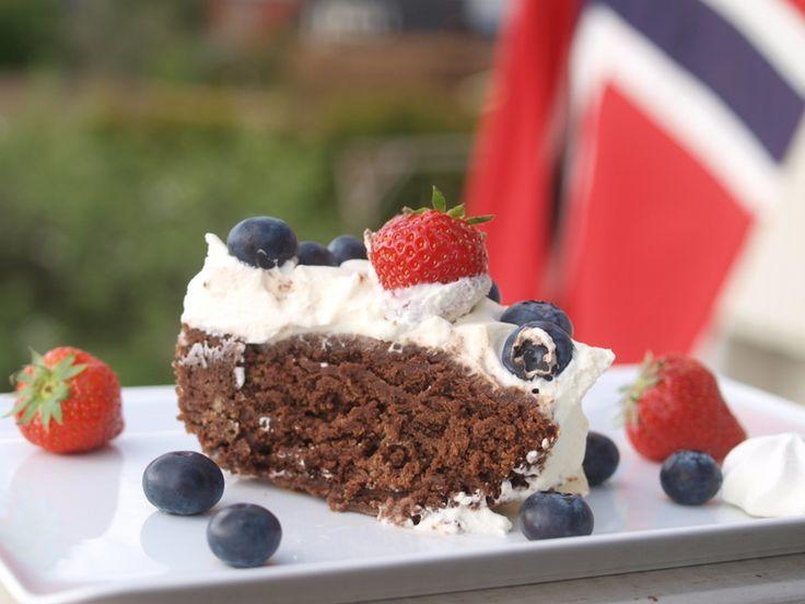 Norwegian May 17th. cake