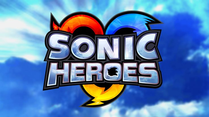 Sonic Heroes Logo Wallpaper [1920x1080]