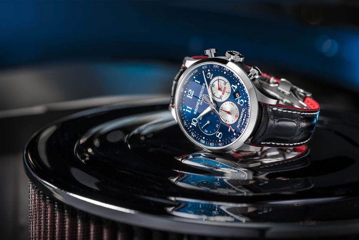 Capeland 10232 montre homme chronographe automatique edition limitée - Baume et Mercier