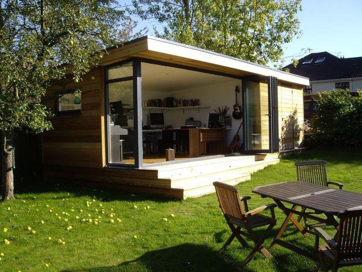 garden office design ideas. garden office wood cladding google search design ideas
