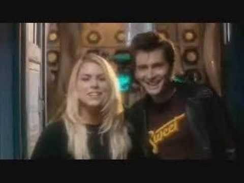 "David Tennant & Billie Piper Children in Need 2005 appeal - YouTube <-- ""Hi, I'm David Tennant-"" ""-And I'm Billie Piper."" BAHAHA, oh really?"