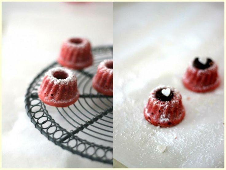 Red Velvet Mini Gugls Rezept eingesendet von: Anja   #Dessert