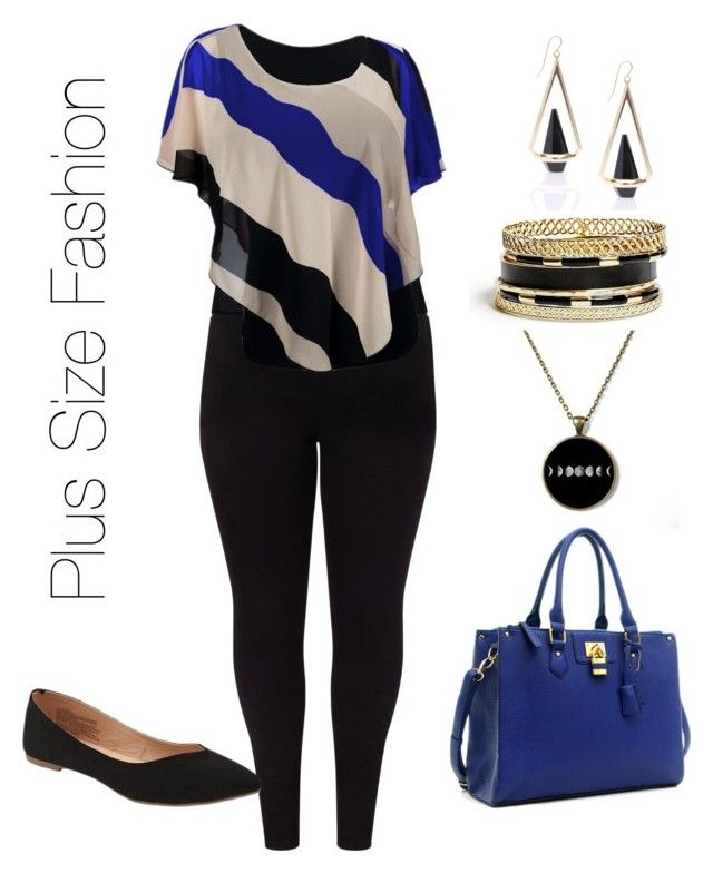 """""""Plus Size Fashion"""" by whatstheoccasionclub on Polyvore featuring Studio 8, Old Navy and GUESS"""