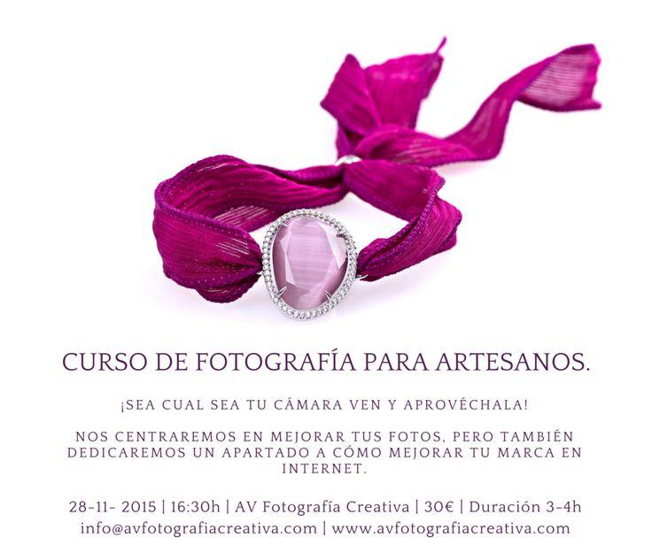 Curso de fotografía para artesanos