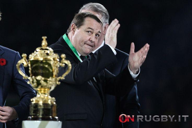 """Il CEO della NZRU """"annuncia"""" il rinnovo con il ct iridato fino al Mondiale in Giappone"""