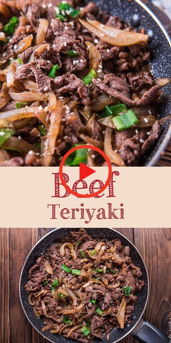 Beef Teriyaki Shaved Beef Recipe Beef Recipes Beef Dishes