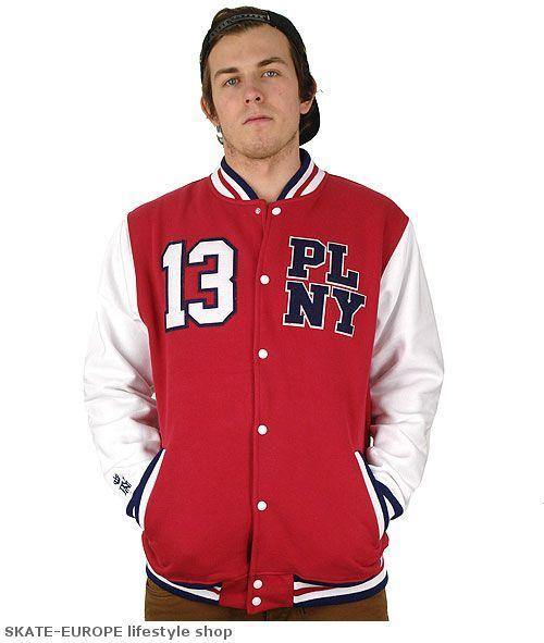 Bluza baseballowa PLNY- zobacz i kup lub poszukaj podobnego produktu w naszej ofercie. skate-europe.com - w sieci od zawsze - z najlepszymi cenami!