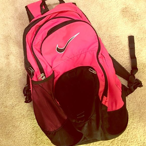 pink nike bookbags