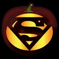 Superman Logo CO - Stoneykins Pumpkin Carving Patterns and Stencils