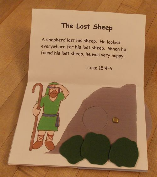 Parables of Jesus Pop Up Book - Lost Sheep