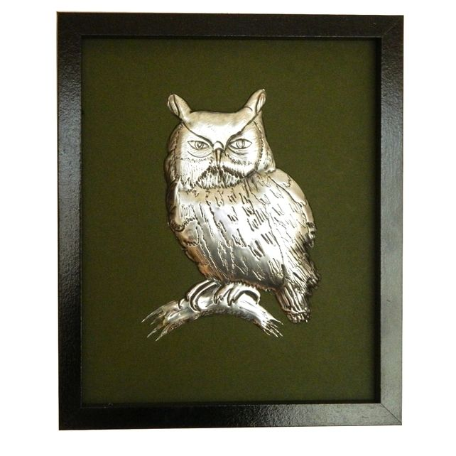 3D Pewter Owl Wall Hanging £25.00