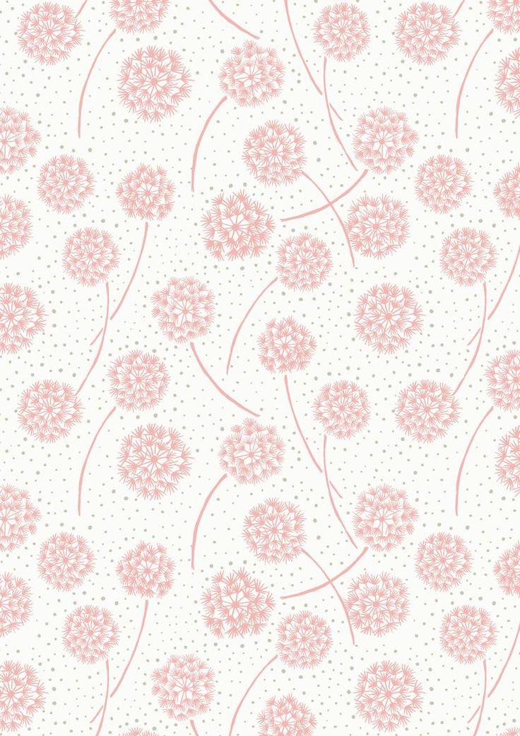 A59.5 Pink dandelions