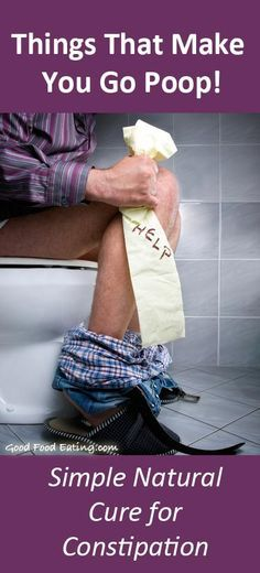 Fastest Cure For Constipation - an easy, natural method that works every time!