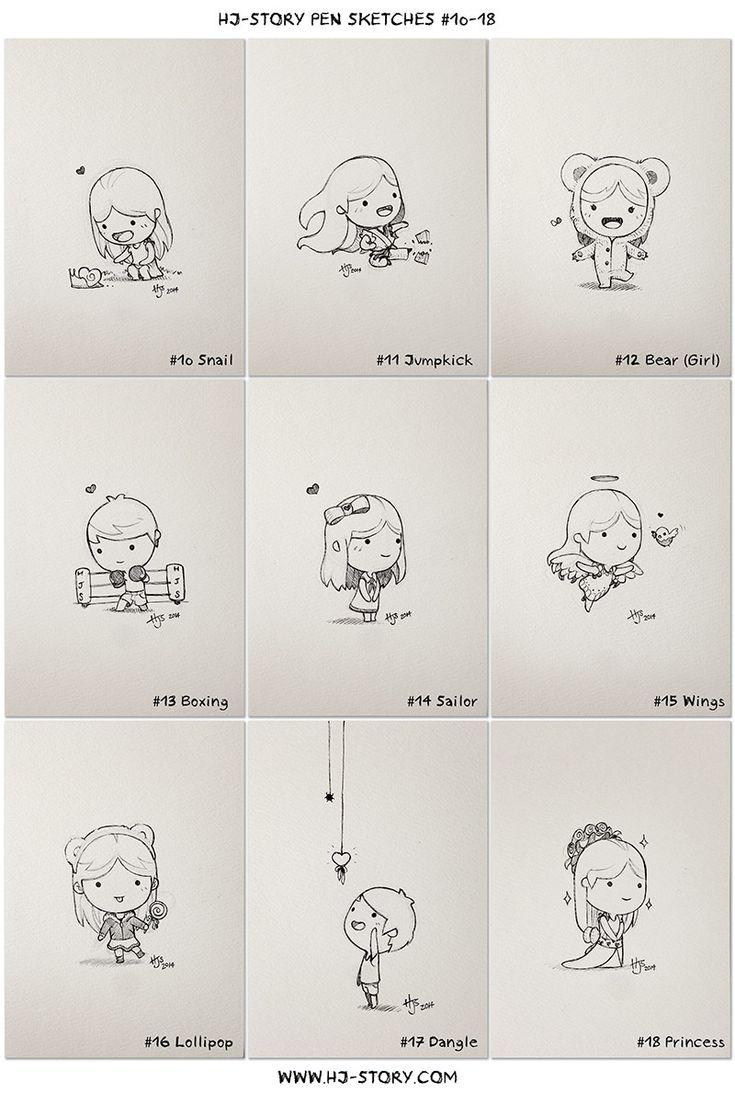 HJ-Story :: HJ-Sketch 10-18