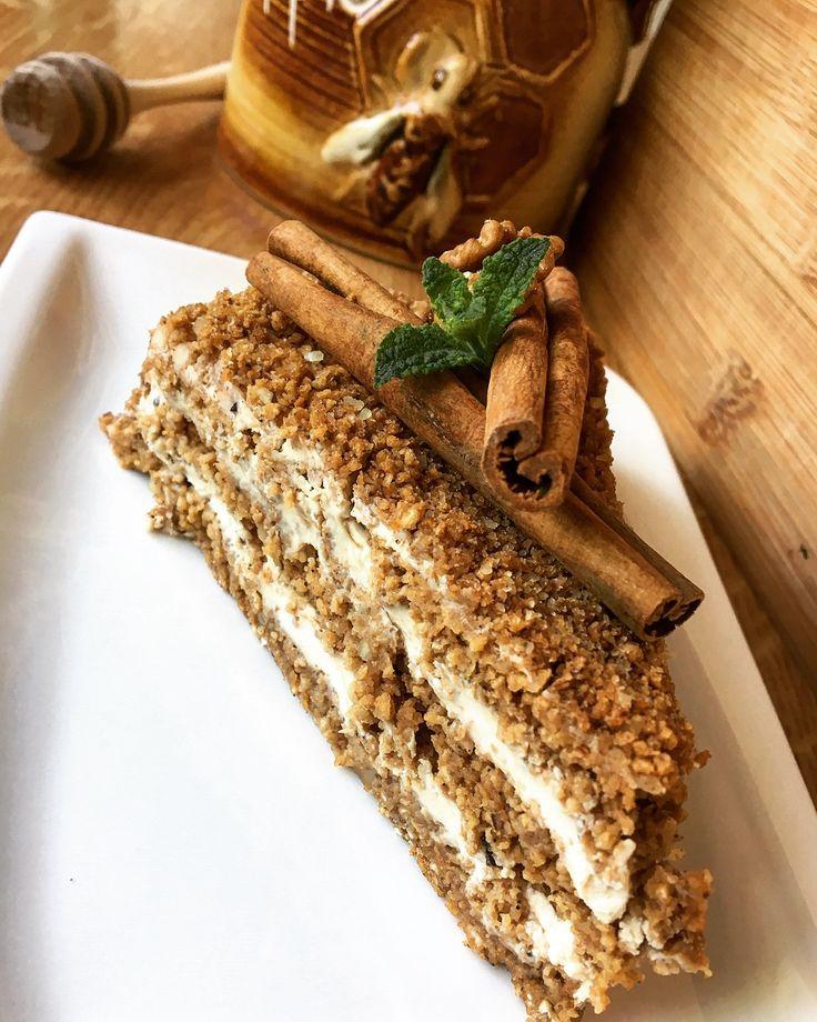 Healthy honey cake  Why not ?