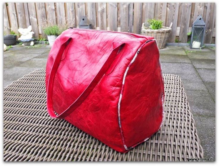 creaBH / Kloske!: Kloska's Wiske, een tas uit Mijn Tas