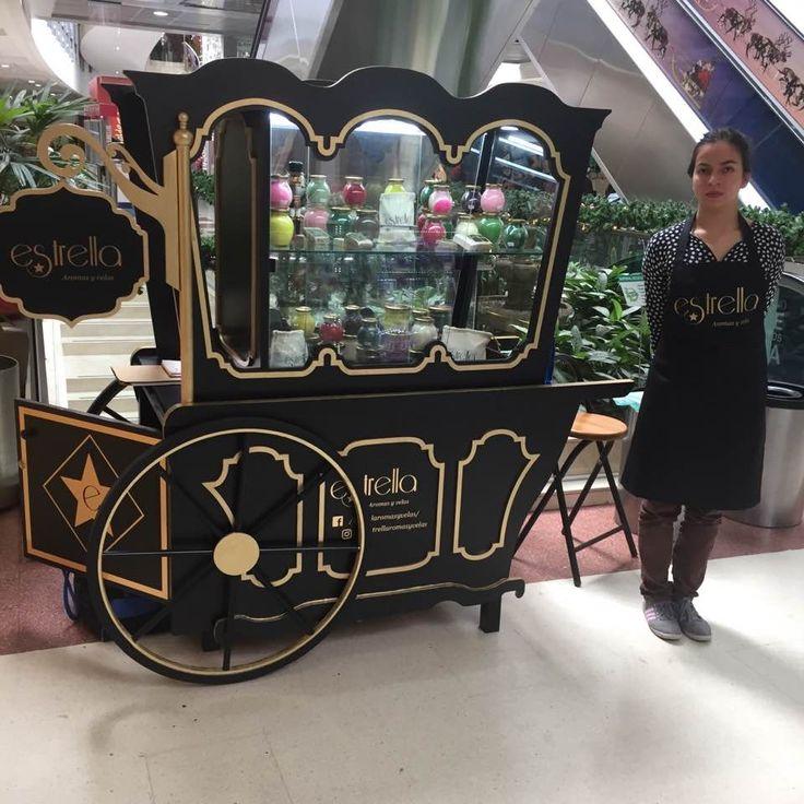 Kiosco en forma de carroza para publicidad en Venta #HagamosunNegocio #Equipo #Kiosco #Publicidad #Bogota