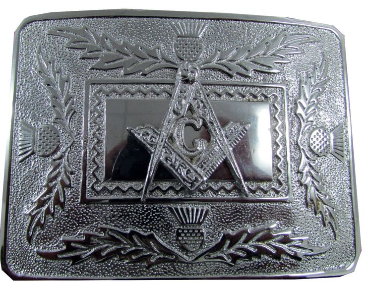 Chrome ‪#‎Belt‬ ‪#‎Buckle‬ Brand New Pewter ‪#‎Kilt‬ #Belt #Buckle, which takes the standard Kilt Belt 2 - 2.5 inches This Solid #Belt #Buckle in Polished Chrome Finish come in many different designs This design is a Masonic Celtic Knots design. Approx 3'' x 4''.Visit our online kilt shop we offer most authentic and latest. www.royalkilt.com