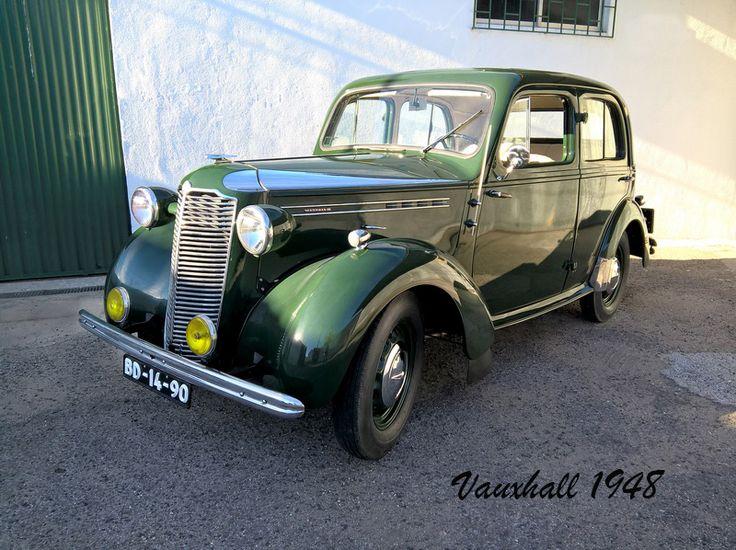 Vauxhall de 1948, modelo HIX ou Twelve-Four.