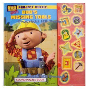 8 best images about bob the builder interactive sound book for Finding a builder