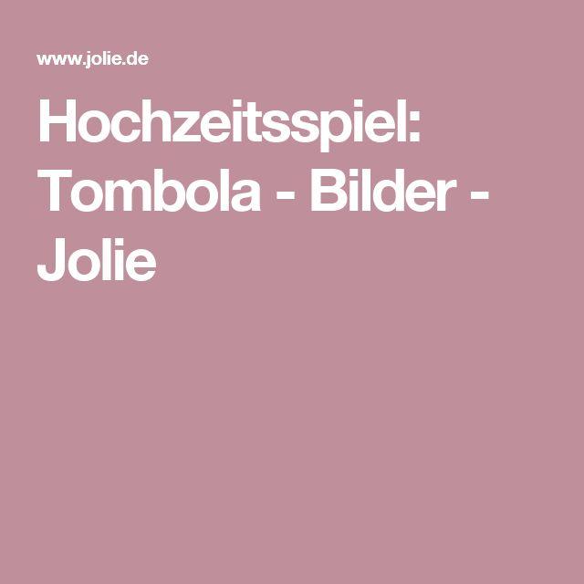 Hochzeitsspiel: Tombola - Bilder - Jolie