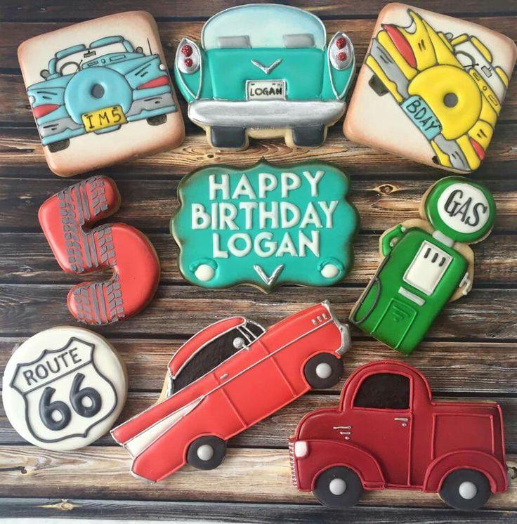 Car Cookies | Sarah's Cookie Jar