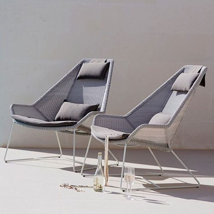 The weather in Denmark is so beautiful today. It's defently time for outdoor living ☀️Regram from @strandhvass with our beautiful Breeze highback chair designed by #strandhvas ✨ #breeze #highback #chair #relax #comfort #danishdesign #design #outdoorliving #outdoorfurniture #caneline