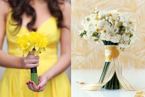 Daffodil wedding
