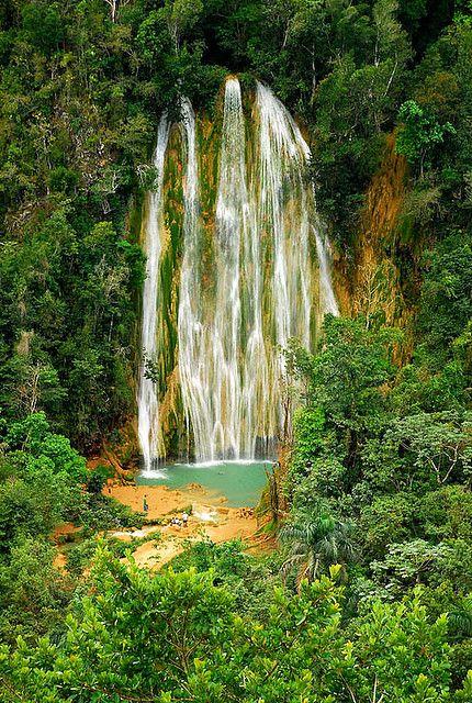 Cascada del Limon, Samana Peninsula, Dominican Republic #Caribbean