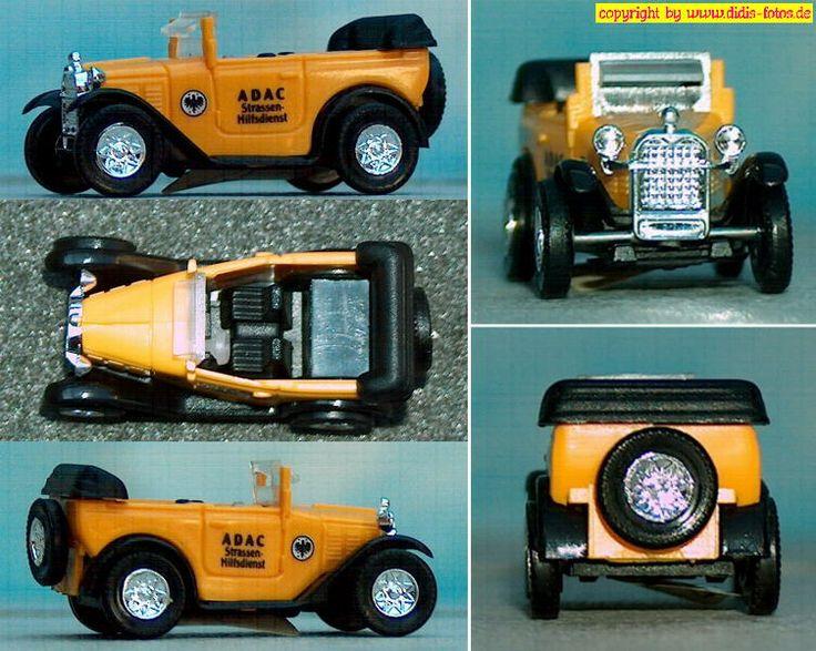 """BMW """"Dixi"""" 3/15 DA2 Tourer (Cabrio) (Brekina 1522)"""