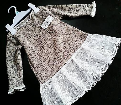 beate1 / Jarné šaty-tunika