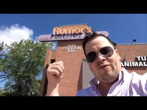 My 30 Favorite Places In Southwest Winnipeg - Day Five - Rumor's Comedy Club